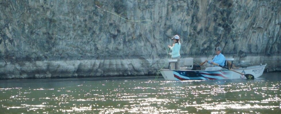 Female Vet on Snake River-2019